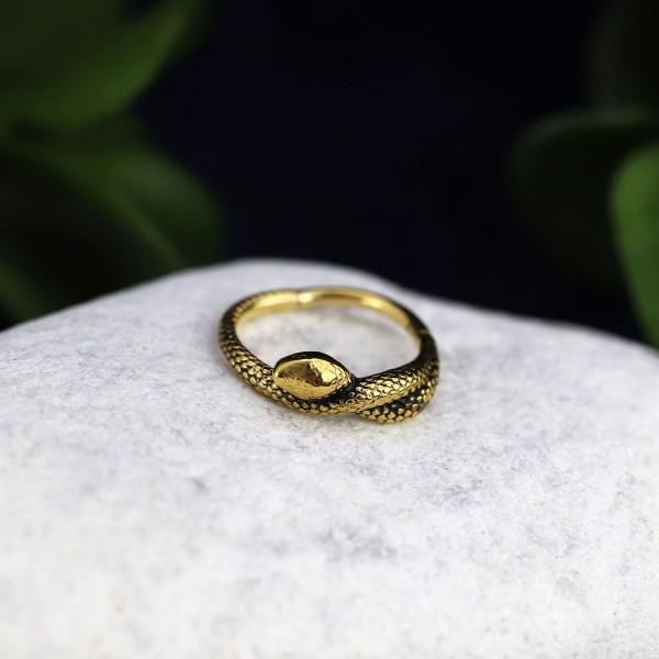 Schlangen Clicker 24k Gold