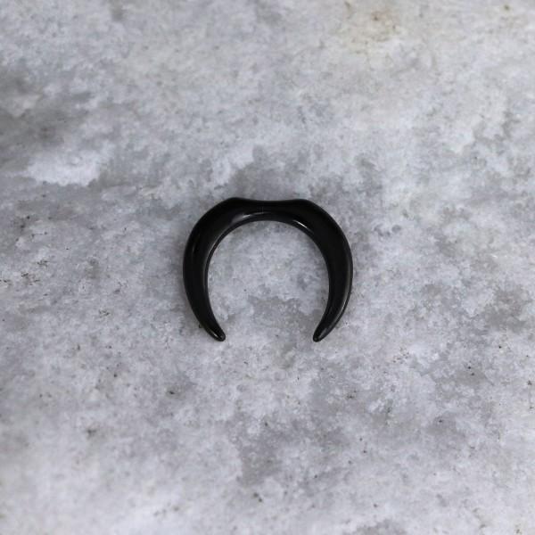 Sichelförmiges Hufeisen Schwarz